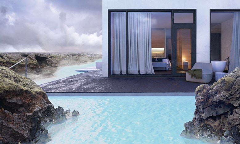 The Retreat at the Blue Lagoon Iceland scenery