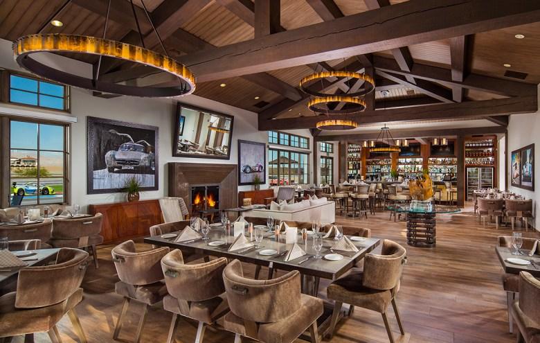 Thermal Club car club dining room CA