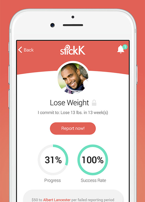 stickK effective goal setting 2020