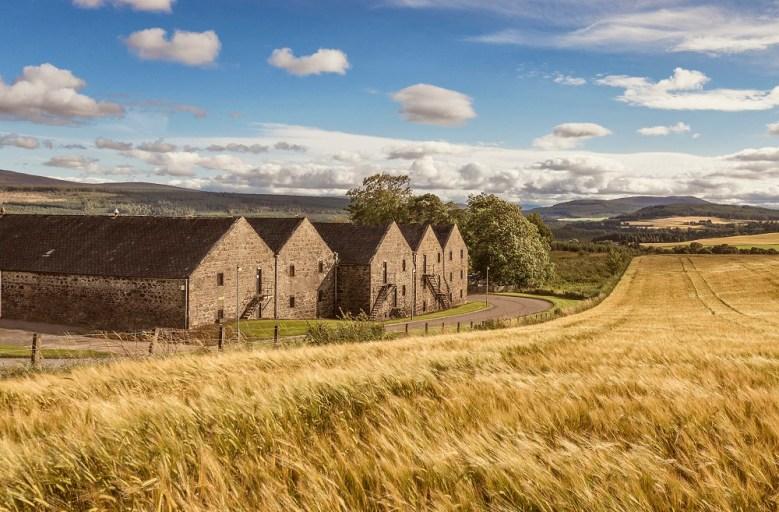 Cardhu Distillery in Scotland