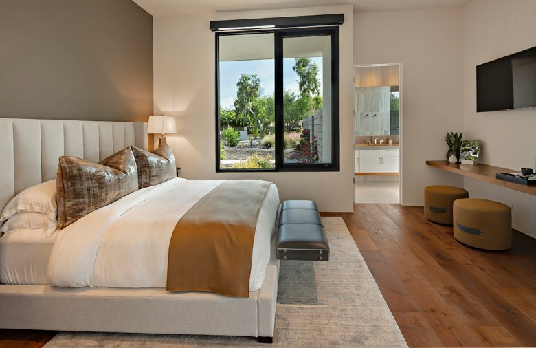 Modern bedroom design by Claire Ownby