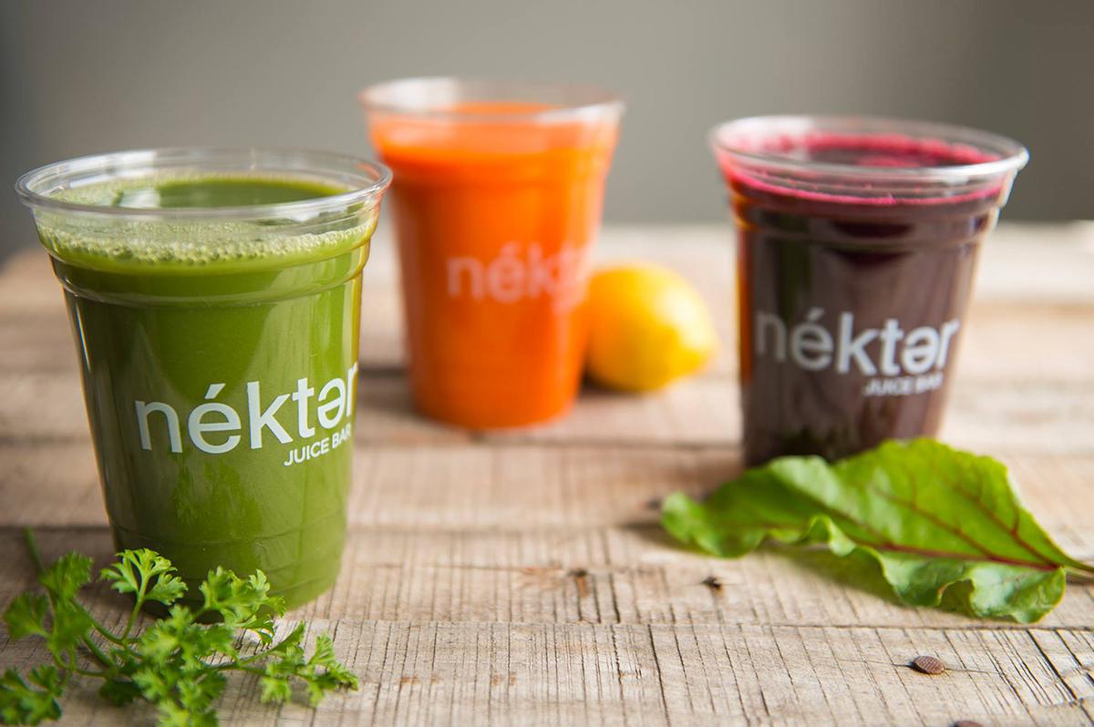 Nektar juices founder Alexis Schulze