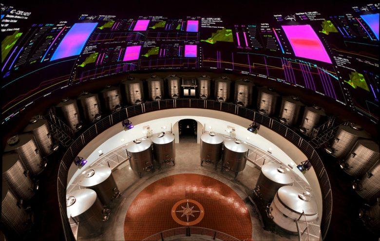 Palmaz winery Dome technology