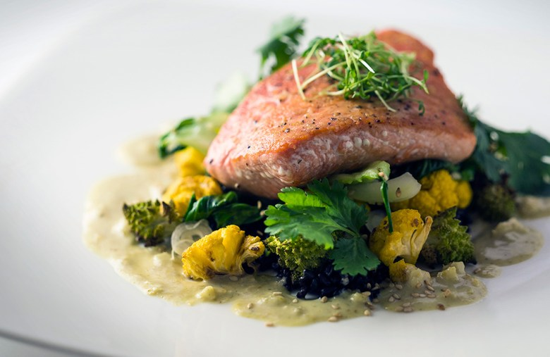 Salmon from Denali Alaska culinary experience