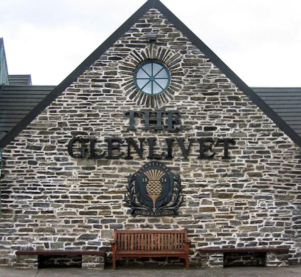 guys trip to Glenlivet Distillery in Scotland