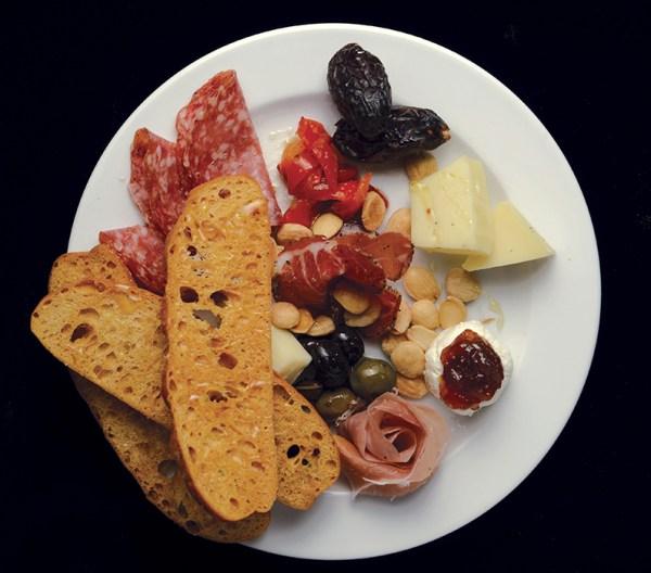 Appetizer at Pisa Lisa Chef Lisa Dahl
