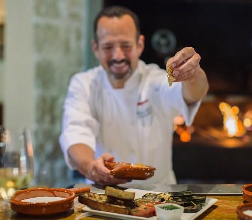 Chef Alex Stratta super bowl party food