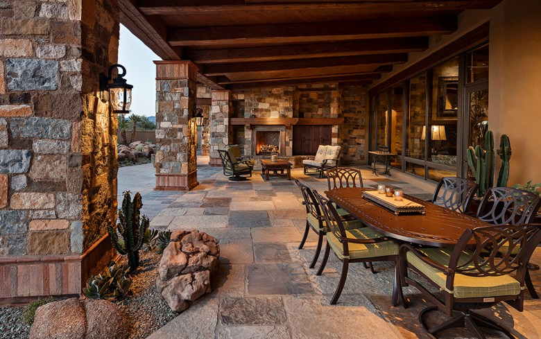 outdoor living desert architecture Arizona