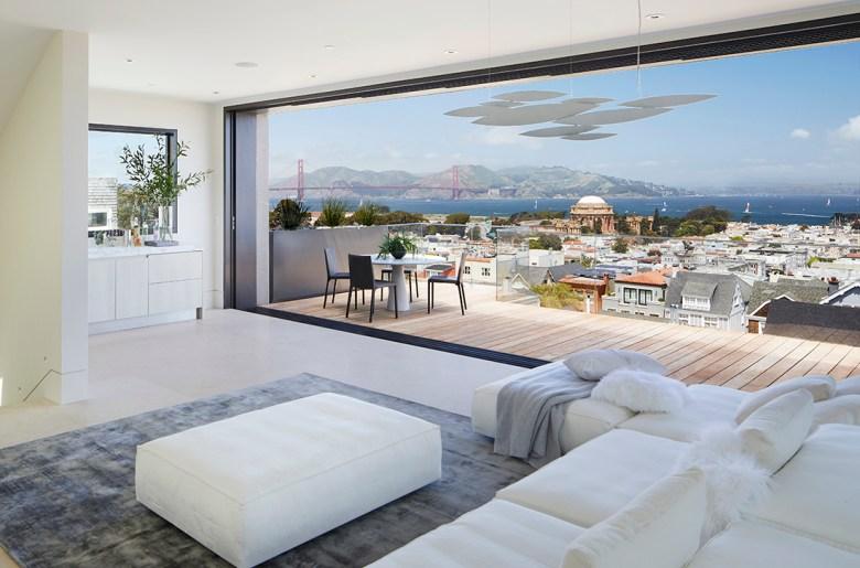 penthouse in luxury wellness estate