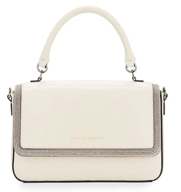 Brunello Cucinelli leather handbag