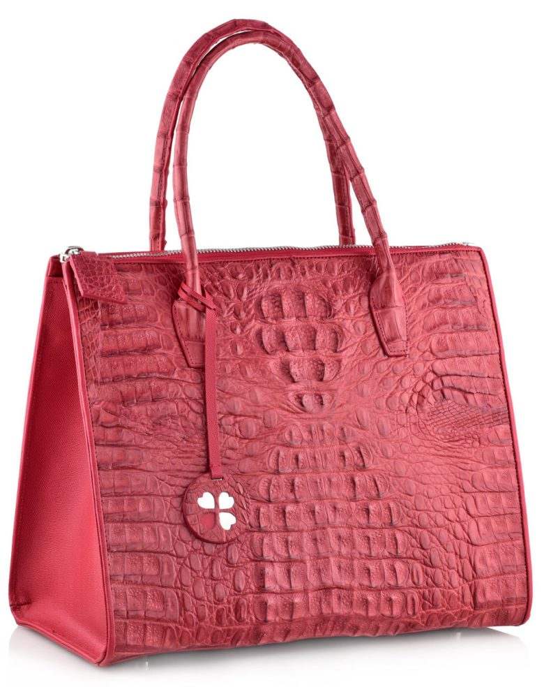 Suzan-Lee-Red-exotic handbag