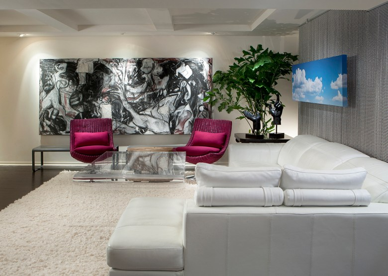 contemporary living room by IMI Design