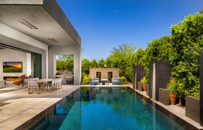Azure luxury gated community outdoor living