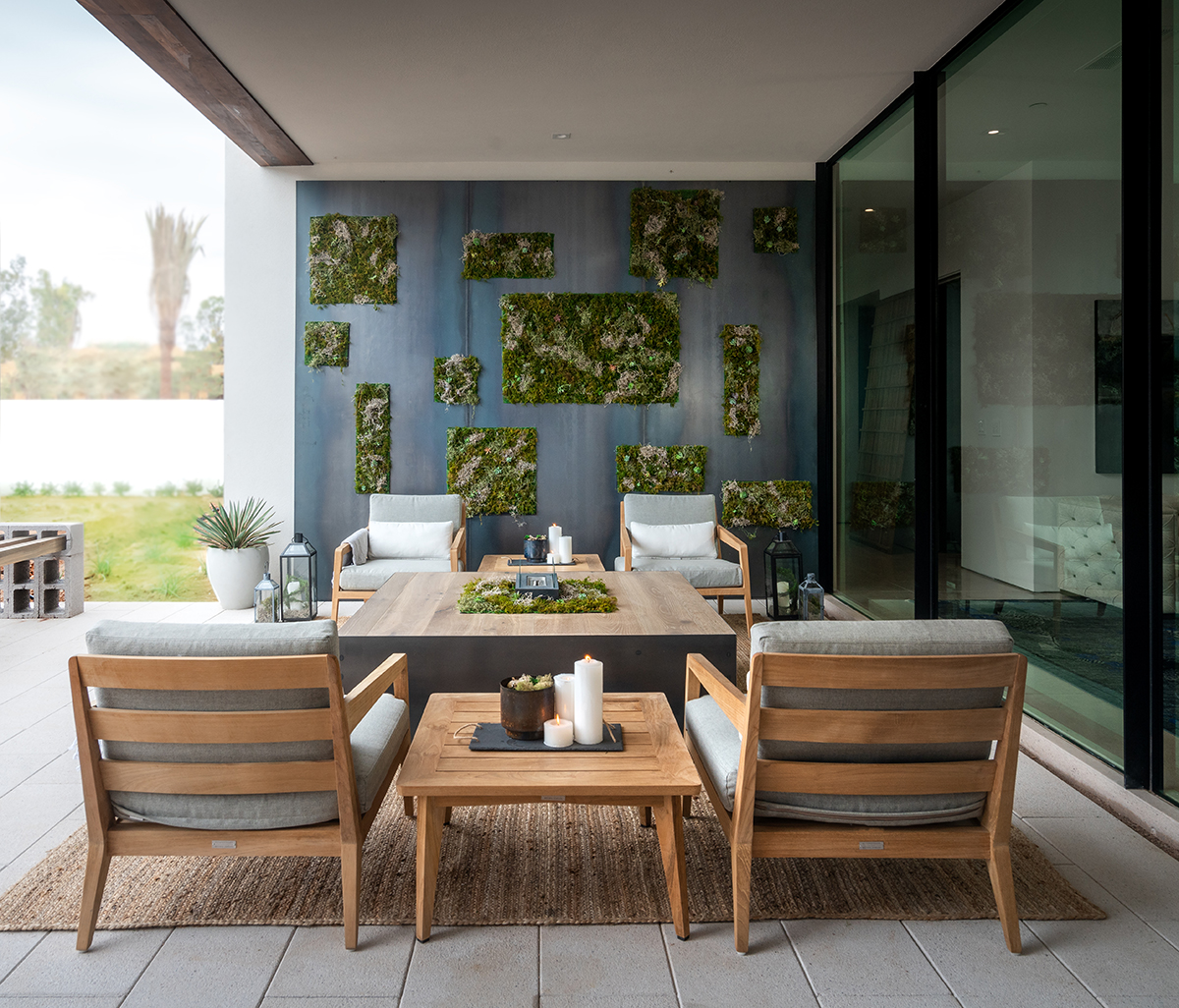 ICONIC HAUS Master Patio by Design Outside the Lines