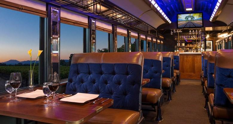 Napa Valley Wine Tours train