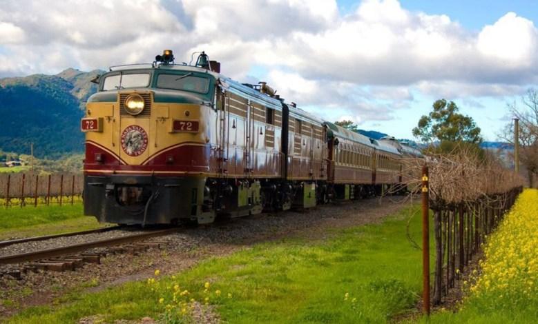 Napa Valley Wine train tour