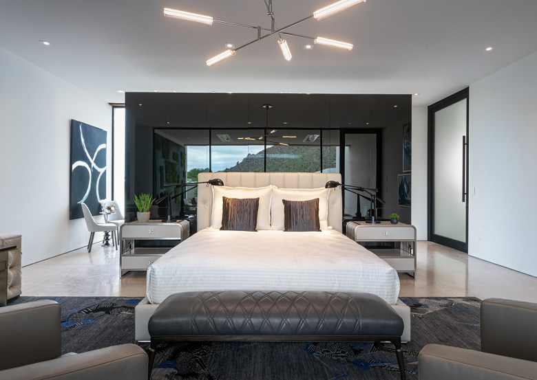 master bedroom in ICONIC HAUS
