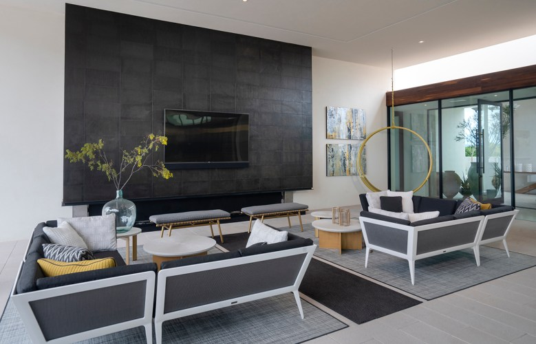 patio room in the ICONIC HAUS
