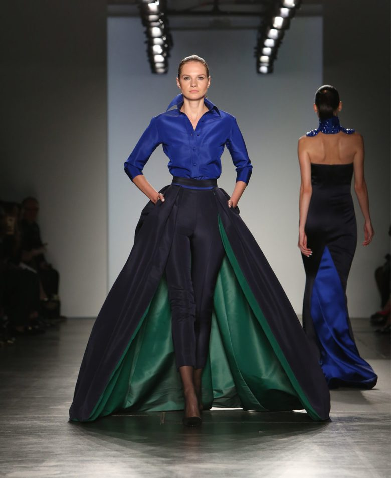 zang toi runway fashion designer