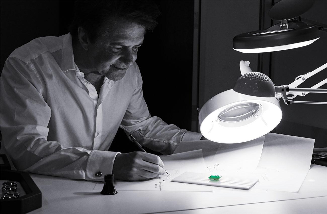 Robert-Procop-Studio-sketching-jewelry