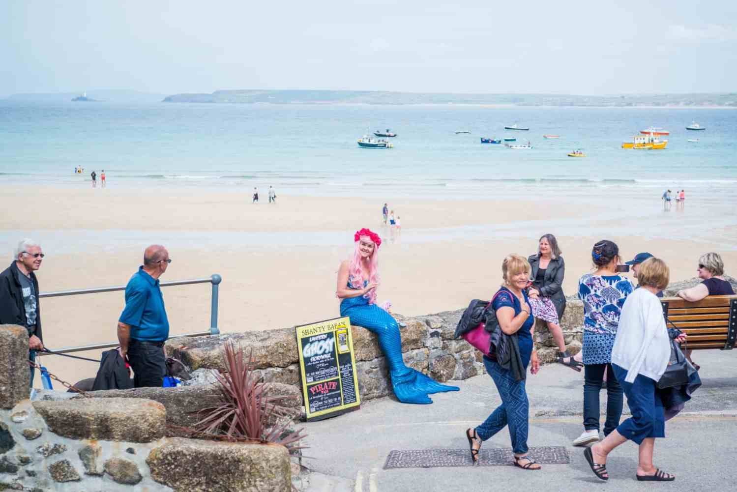 Wedding Photographer in Cornwall - St Ives Mermaid