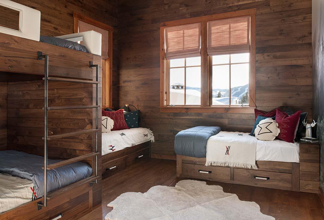 Custom bunk beds interior design