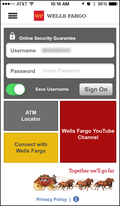 Is the Wells Fargo Mobile App Anti-Security? - Connecting