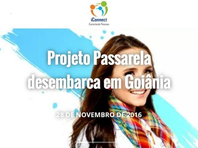 Projeto Passarela desembarca a Goinia em busca de novos talentoshellip