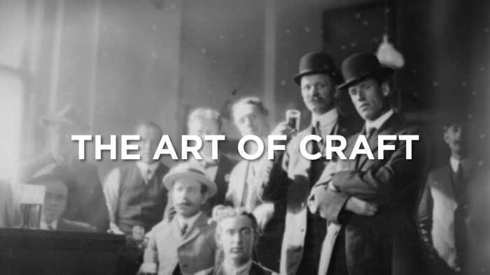 The Art of Craft