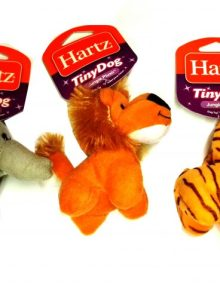 HARTZ PERRO TINY DOG PELUCHE JUNGLE SURTIDOS