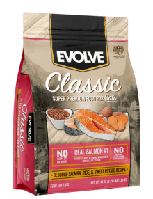 EVOLVE CAT CLASSIC SALMON 14 LB