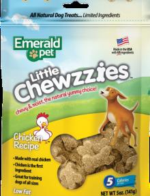 Snacks Emerald Pet Little Chewzzies