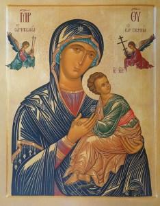 Virgen Del Perpetuo Socorro. Virgen de la Pasión.