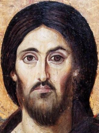 Cristo Pantocrator del- Sinaí. siglo V.