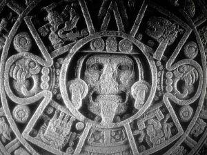 Calendario azteca, piedra del sol. Museo antropológico nacional de México.