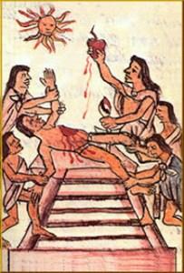 """""""...Aproximadamente el 1% de la población, unas 250.000 personas, era sacrificado cada año durante el siglo XV ..."""""""