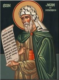 San Juan Damasceno, último Santo Padre de Oriente. El gran defensor de las imágenes sagradas.