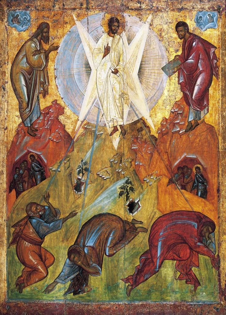 La Transfiguración, Teófanes el Griego, 1403
