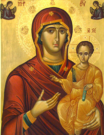 Virgen Odighitria, La que muestra el Camino.