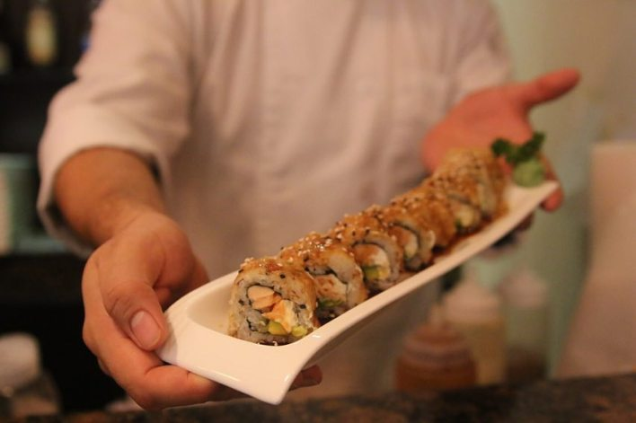 Clases de Sushi hotel InterContinental