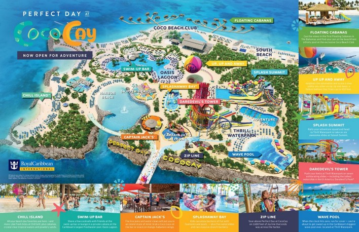 Perfect day at Cococay by Royal Caribbean