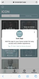 icon app phone