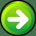 Button Next Icon | Button Iconset | Hopstarter
