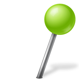 Map Marker Ball Right Chartreuse Icon Vista Map Markers