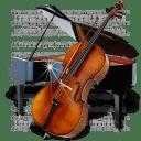 Music Piano Chello icon