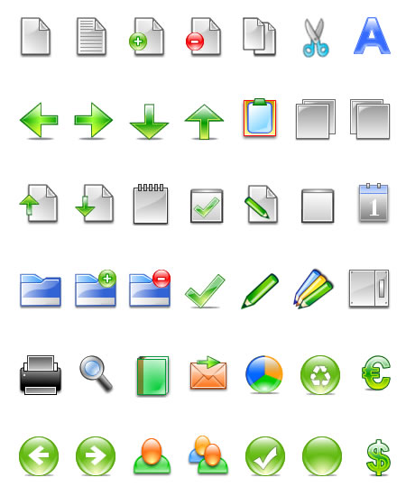 Simple Office Free Icons by Iconshots.com