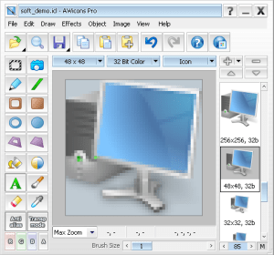 Awicons icon editor