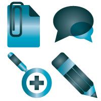 Simpleshots Blue Logo