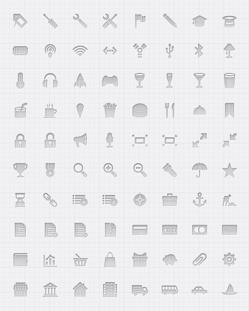 Glyph Iconset by Umar