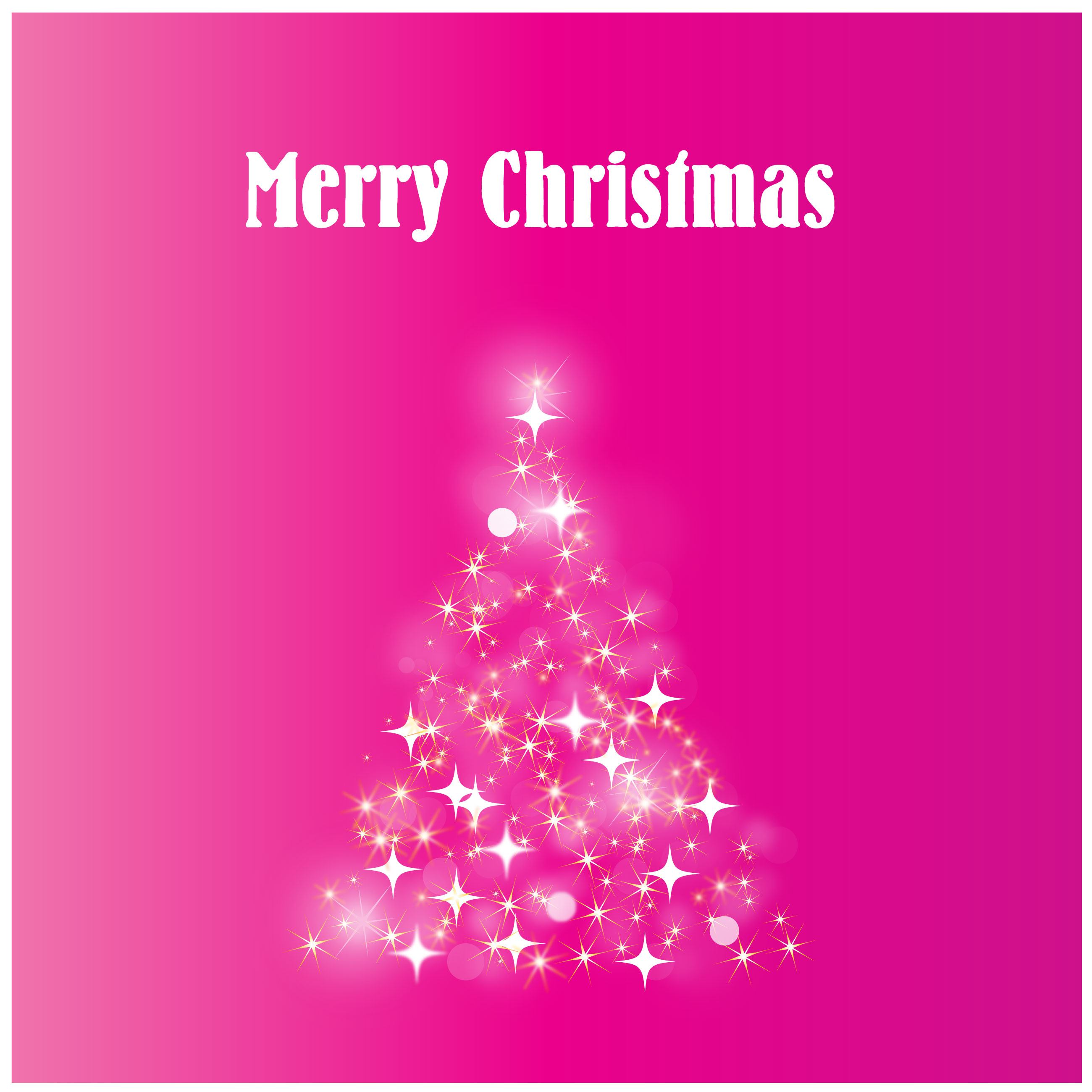 Merry Christmas Vector Graphic Iconshots Magazine